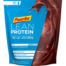 PowerBar Lean Protein Sports Nutrition Chocolate 500g brown/blue